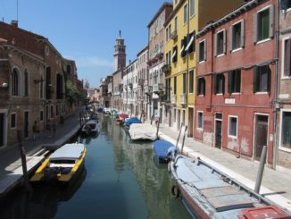 Архитектура, канал, Венеция