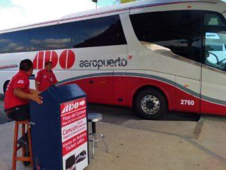 Автобус ADO в Плайя-дель-Кармен